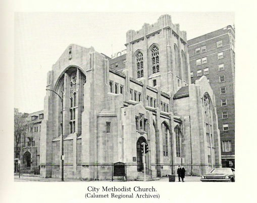 City Methodist Church Gary An Abandoned Church In Gary In