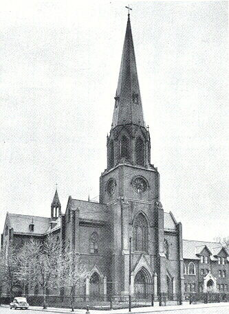 Church of the Transfiguration Buffalo historic photograph