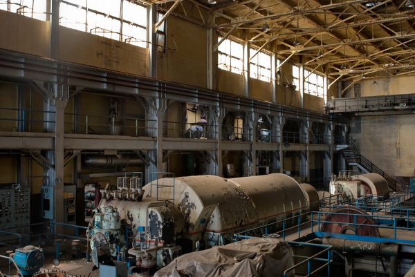 Abandoned Westport Generating Station