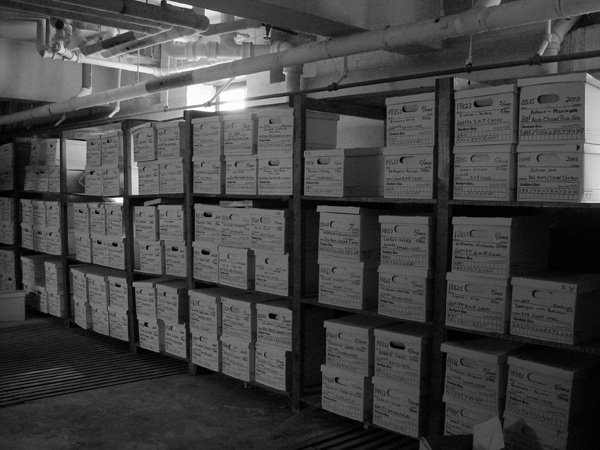 Thousands of patient medical records abandoned at a medical facility