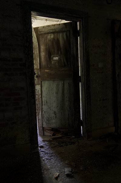 Creepy Door Photo Of The Abandoned Fuller State School