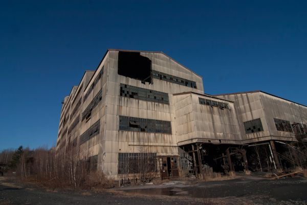 Abandoned Old Saint Nicholas Coal Breaker