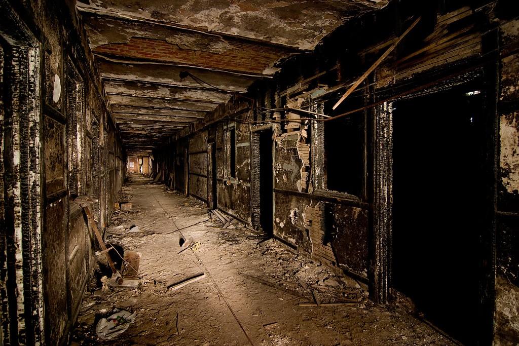 depths photo of the abandoned jackson sanatorium