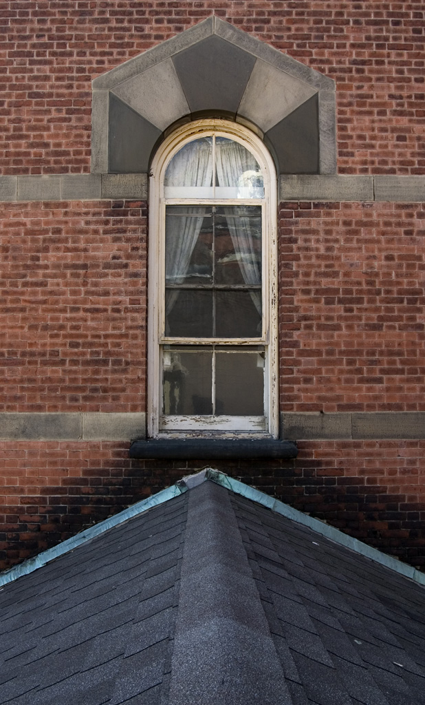 Window detail photo of the abandoned riverside state for 12 x 60 window