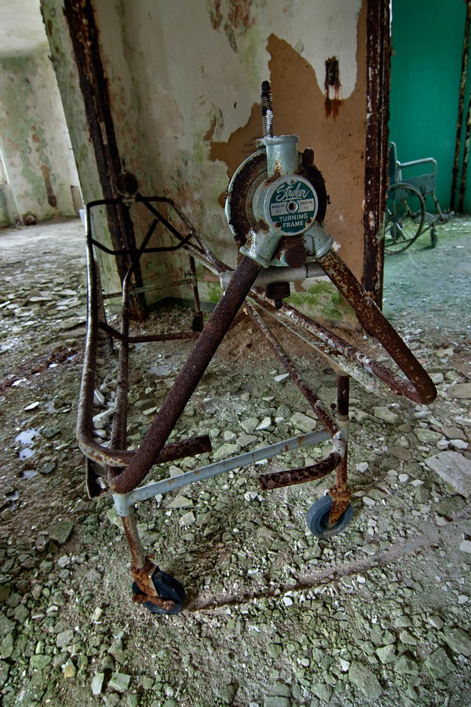 Stryker Turning Frame - Photo of the Abandoned Rathen State Hospital