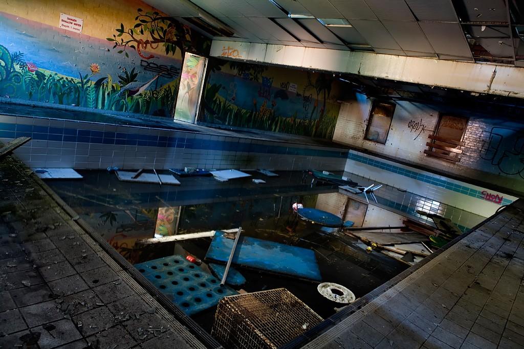 Sludge Pool Photo Of The Abandoned Cherry Knowle Hospital
