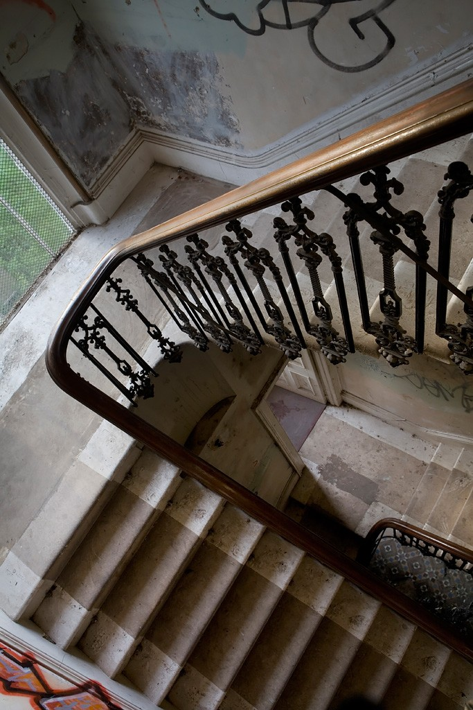 Banister Photo Of The Abandoned Normansfield Hospital