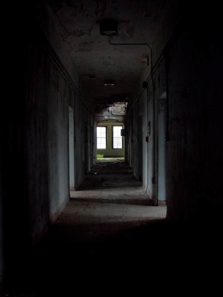 Dark Hall Photo Of The Abandoned Foxboro State Hospital