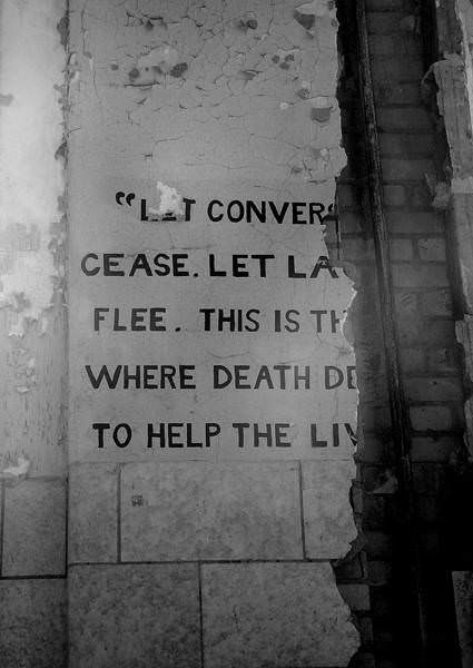 Quote Photo Of The Abandoned Pilgrim State Hospital