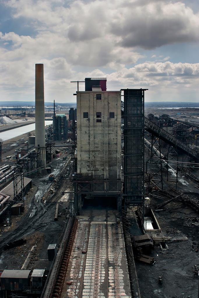 Bethlehem Steel Lackawanna Plant an Abandoned Steel