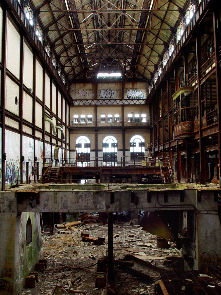 Turbine Hall Photo Of The Abandoned Glenwood Power Plant