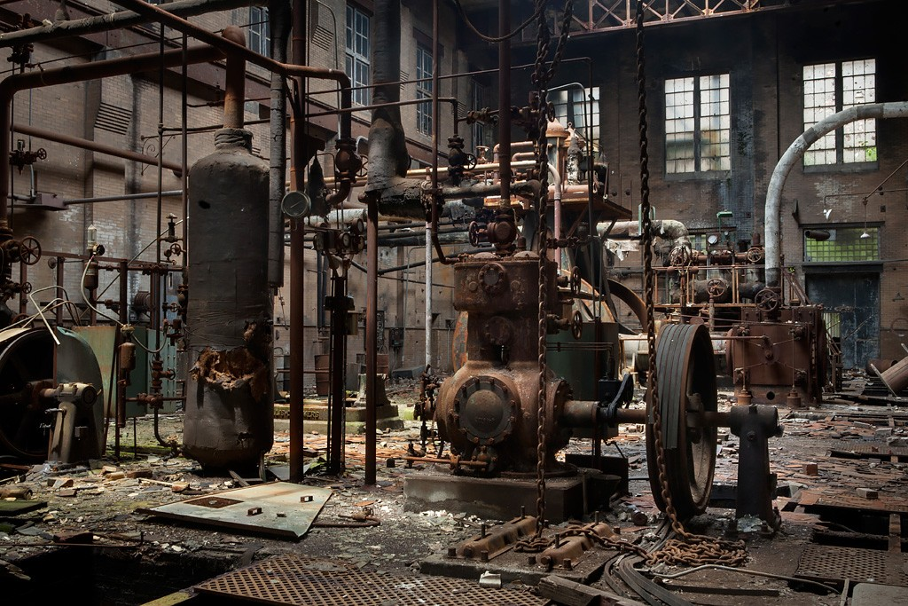 Dungeon Photo Of The Abandoned Armour Meat Packing Plant