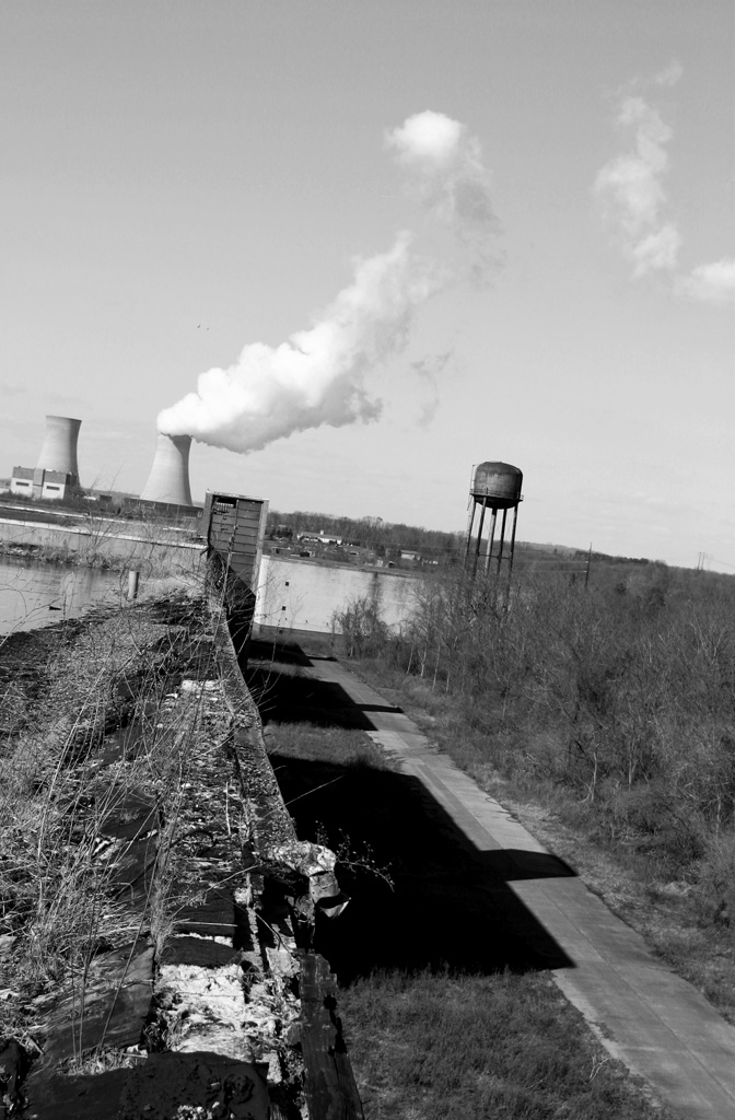 Nuclear View - Photo of the Abandoned Linfield Industrial Park