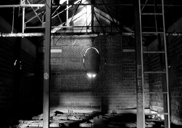 Oval Photo Of The Abandoned Kings Park Psychiatric Center