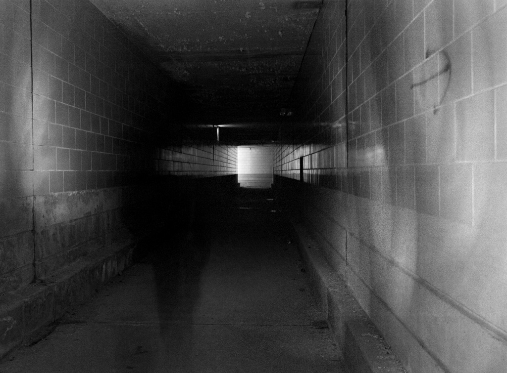 Dark Patient Tunnels Photo Of The Abandoned Pennhurst