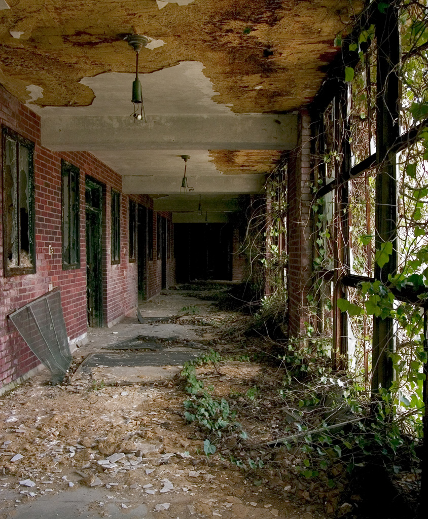 Photo Of The Abandoned Glenn Dale Hospital