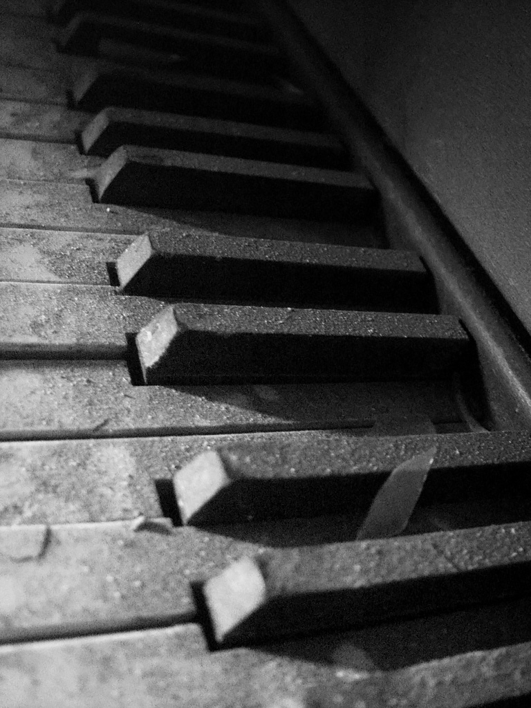 Piano Keys Photo Of The Abandoned Clairvaux Tuberculosis Hospital