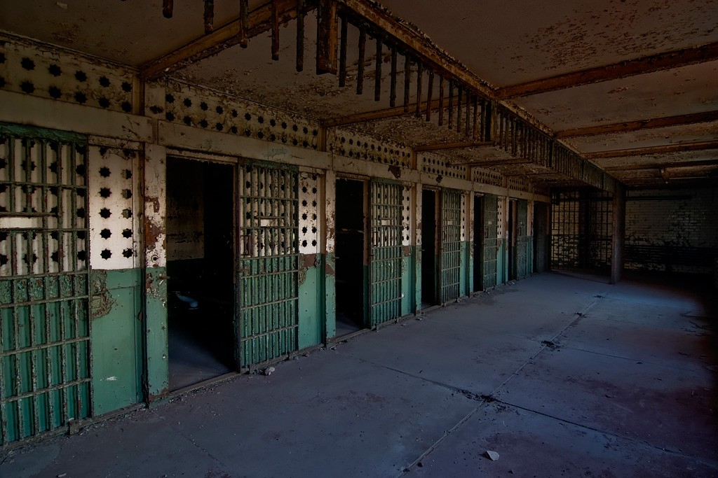 Cut Photo Of The Abandoned York County Prison