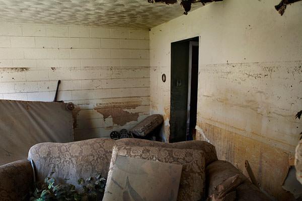 Desire New Orleans LA abandoned