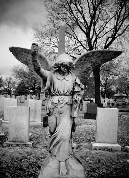 Greenmount Cemtery Baltimore angel